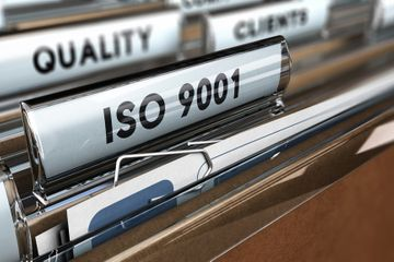 Preparation for ISO9001 certification